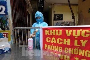 Hà Nội lập 2 chốt cách ly mới tại phường Đồng Tâm