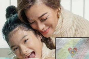 Trương Ngọc Ánh xúc động tiết lộ bức thư viết tay của con gái Bảo Tiên