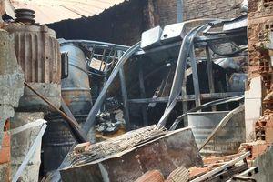 Cháy lớn tại cửa hàng, nhiều tài sản bị thiêu rụi