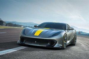 Siêu xe Ferrari 812 Competizione ra mắt