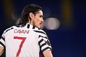 Cavani san bằng kỷ lục ấn tượng của Solskjaer cho MU