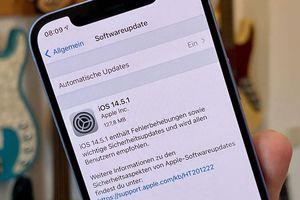Bản vá iOS 14.5.1 tiếp tục phát sinh thêm lỗi