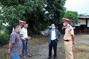 Chủ tịch UBND tỉnh Lâm Đồng chỉ đạo xử lý 2 xe tải vượt ẩu trên đường