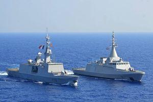 Ai Cập và Pháp tập trận chung hải quân, không quân
