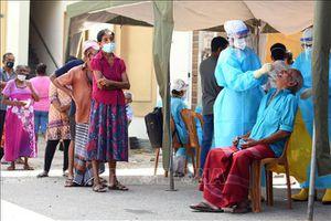 Sri Lanka ghi nhận ngày có số ca mắc COVID-19 cao nhất từ trước tới nay