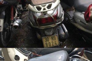 Hà Nội: Công an tìm chủ sở hữu của 8 xe máy do 141 bàn giao