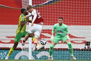 Kết quả Arsenal 3-1 West Brom: Pháo thủ tiễn West Brom xuống hạng