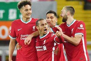 Thiago đã nổ súng cho Liverpool