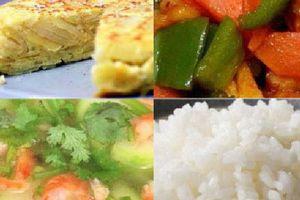 Món ngon cơm chiều: 3 món cho ngày bận rộn