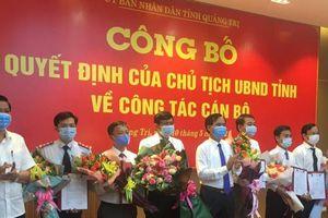 Quảng Trị bổ nhiệm cùng lúc 5 phó giám đốc sở
