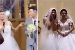 'Cô dâu' bước vào hôn trường, chú rể suýt bỏ chạy và sự thật khiến dân mạng cười nghiêng ngả