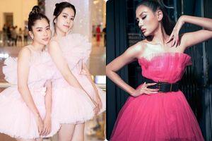 Chị em Nam Anh - Nam Em và cả Vbiz hóa công chúa kiêu sa trong những thiết kế váy áo bay bổng