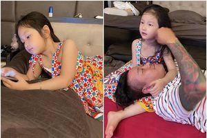 Con gái Tuấn Hưng được khen lớn phổng phao, xinh đẹp hệt mẹ, mắt Hàn Quốc thu hút