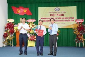 Ông Vương Trí Phong làm Giám đốc Ngân hàng Nhà nước Chi nhánh Đồng Tháp