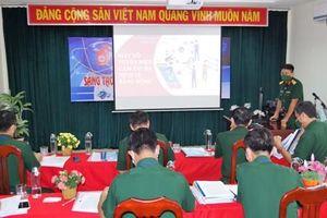 Trường Sĩ quan Thông tin tổ chức hội thi sáng tạo khoa học công nghệ năm 2021