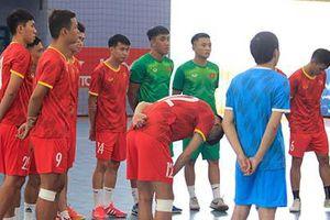 Hủy giao hữu với Thái Lan, ĐT futsal Việt Nam thử lửa với Iraq