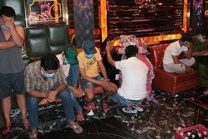 43 người tụ tập tại quán karaoke bất chấp mùa dịch, 30 đối tượng dương tính ma túy