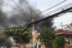Vụ cháy 8 người chết ở TP.HCM: Công an giải thích tại sao có nhiều tiếng nổ lớn