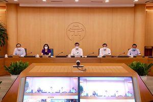Bí thư Thành ủy Đinh Tiến Dũng: Biểu dương lực lượng tuyến đầu chống dịch và cảm ơn sự ủng hộ của nhân dân Thủ đô