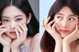 Jennie BLACKPINK được tung ảnh quảng cáo nail mới, ngay lập tức lại bị so sánh với Suzy