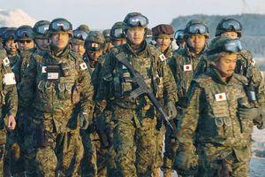 Nhật Bản lần đầu tập trận chung với quân đội Mỹ, Pháp