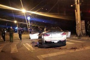 Công an truy tìm 4 kẻ đập phá xe BMW, chém người trong đêm