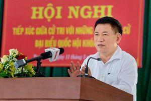 Bộ trưởng Bộ Tài chính tiếp xúc cử tri tại Bình Định