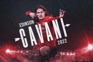 Cavani nói gì sau khi gia hạn hợp đồng với MU?