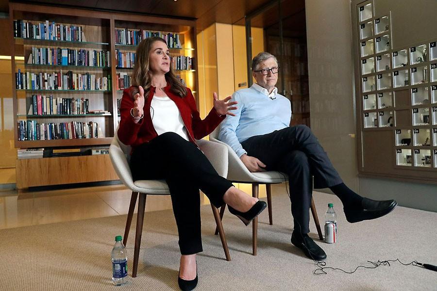Vì tỉ phú ấu dâm Epstein, vợ ông Bill Gates lo ly hôn từ 2019?