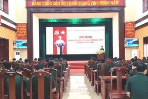 Bộ đội Biên phòng tỉnh Quảng Bình học tập, quán triệt nghị quyết Đại hội XIII của Đảng