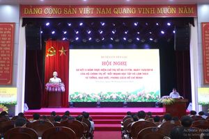 Yên Lạc nêu cao vai trò của người đứng đầu trong triển khai chỉ thị 05
