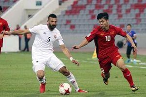 Đội tuyển Việt Nam đá giao hữu với Jordan tại UAE