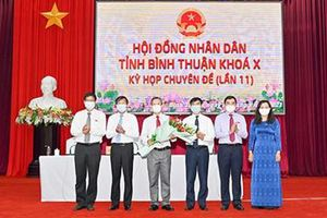 Đồng chí Phan Văn Đăng được bầu giữ chức Phó Chủ tịch UBND tỉnh Bình Thuận