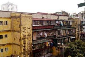 Hà Nội đặt lộ trình cải tạo, xây dựng lại các chung cư cũ