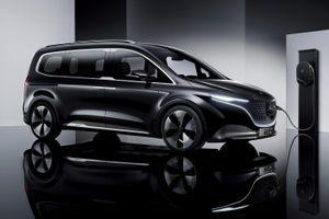 Mercedes-Benz giới thiệu MPV điện hạng sang, bán ra vào cuối năm