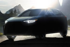 Subaru Solterra - SUV hạng C chạy điện hoàn toàn sắp ra mắt