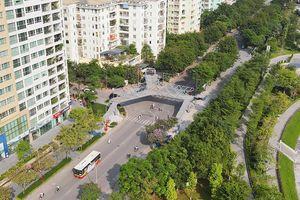 Sắp hoàn thành cầu vượt bộ hành chữ Y tại ngã ba đường Hoàng Minh Giám - Nguyễn Thị Thập