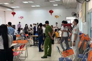 Đà Nẵng: Lập biên bản hơn 100 người tụ tập tại văn phòng công ty