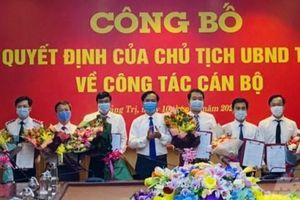 Chủ tịch tỉnh Quảng Trị bổ nhiệm lãnh đạo một số Sở, ngành