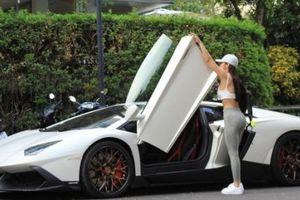 Siêu xe Lamborghini trị giá hơn 20 tỷ đồng của cô chủ nóng bỏng Jessie Lương