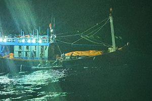 Khẩn cấp trong đêm cứu thuyền trưởng bị đau ruột thừa trên biển