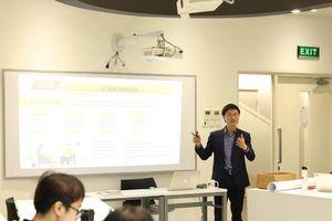 Sinh viên trường Đại học Anh quốc Việt Nam học làm báo chuyên nghiệp