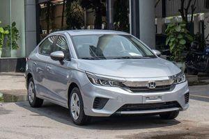 Doanh số Honda City 2021 tại Việt Nam bất ngờ giảm mạnh
