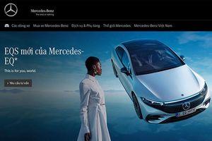 Mercedes-Benz Việt Nam sắp ra mắt xe sang điện EQS 2022 mới