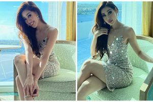 Khánh Vân khoe vẻ ngọt ngào gợi cảm ở Miss Universe 2020