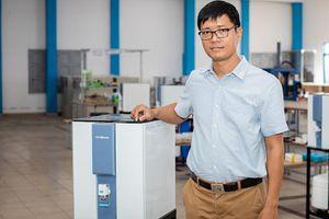 Máy lọc nước tùy chỉnh khoáng chất 'made in Việt Nam'