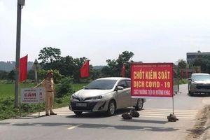 Bắc Ninh thông báo khẩn tìm người đến 8 địa điểm có ca mắc COVID-19
