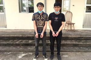 Bắt 2 đối tượng người Trung Quốc nhập cảnh trái phép vào Việt Nam