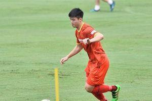 Trung vệ Duy Mạnh: 'Cuộc cạnh tranh ở tuyển Việt Nam rất gắt gao'