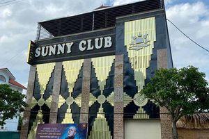 Vĩnh Phúc: Khởi tố vụ án liên quan đến quán bar Sunny